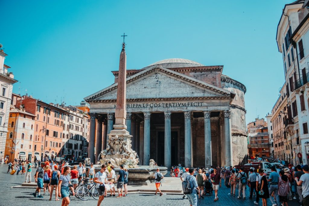 The Pantheon Rome, Italy